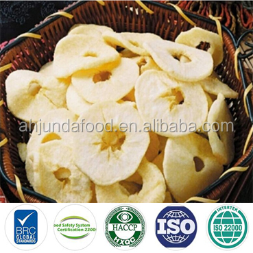 Freeze Dry Fruit Sun Dry Apple Ring Dried Round Apple with Market Price