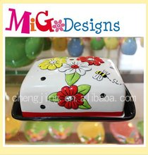 Direct Factory Produce Cute Decor Gift Ceramic Butter Plate