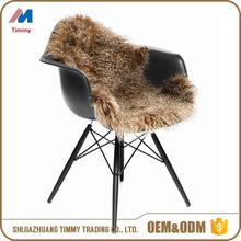 wholesale Genuine Leather Soft Australian lambskin sheepskin rugs natural color or Dyed Color sheep skin rug