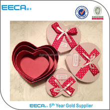 Huge heart shape treasure chest gift box for hot sale in Dongguan China