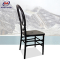 Popular durable used black color resin acrylic phoenix chair with cushion