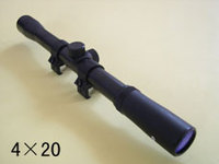 tele riflescope sniper scopes 4x20 mm used in handshot gun