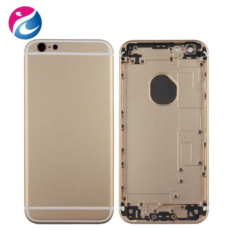 High quality for iphone 6 rose gold housing with back cover, for iphone housing custom, for iphone 6 back housing