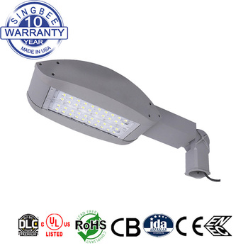 high lumens US free shipping outdoor lighting waterproof 100W LED street lamp