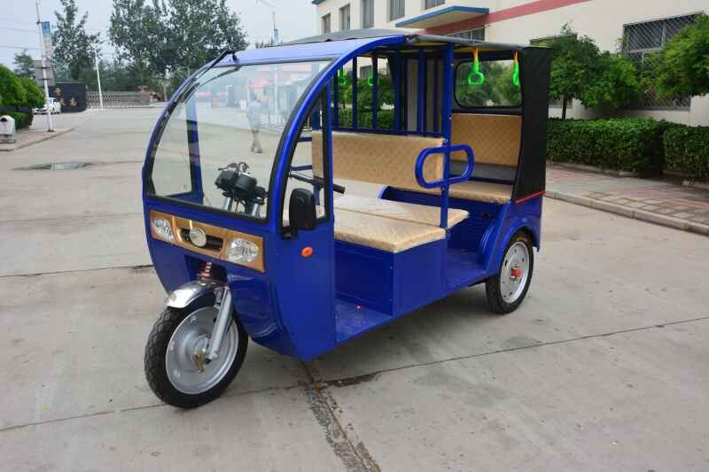 new product 1000w 6-8 passengers electric tricycle motorcycle rickshaw