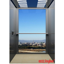 Small Electric Lift 200kg Glass Commercial Elevator