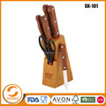 High quality stock knife block set