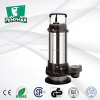 PUMPMAN 2015 QDX10-0.55A new quality plastic impeller high efficiency submersible water pump with float switch