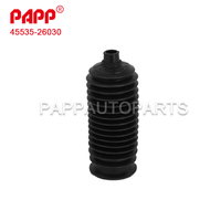 45535-26030 auto parts rubber steering boot for land cruiser prado