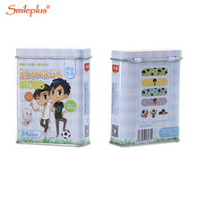 bandages metal tin box for band-aid