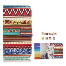 universal smart phone wallet style leather case for Karbonn A11