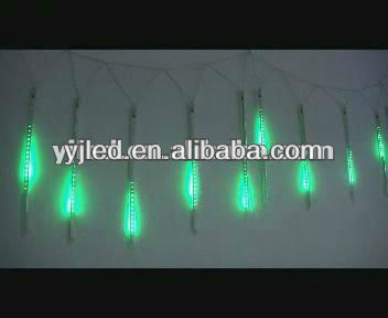260 pieces led/strip outdoor shooting star led bulb christmas lights