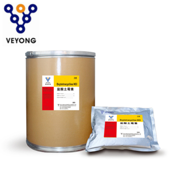 Veterinary API Raw Material Antibiotic Drug Oxytetracycline HCL Powder for Cattle