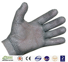 Hot selling stainless steel butcher meat cutting safety gloves
