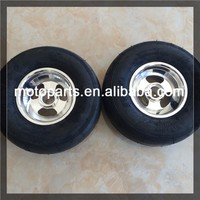 Go-kart toy kart tire and wheel assembly of 10x3.6-5