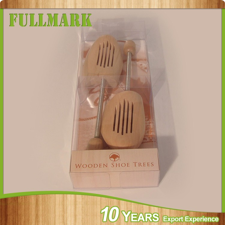 Various styles eco-friendly durable in use cheap custom wooden shoe trees