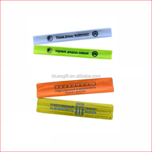 2014 Promotional custom slap ruler bracelet