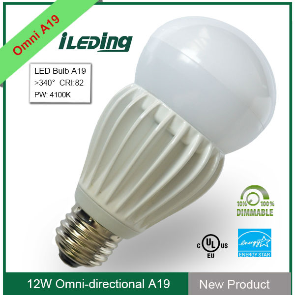 120V UL Dimmable OMNI led lamp a19