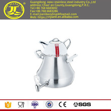 Cooking pot Stainless steel coffee kettle stainless steel tea kettle for Middle East steam jacketed kettle