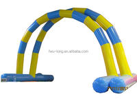 Two tubes big inflatable racing arch for sale
