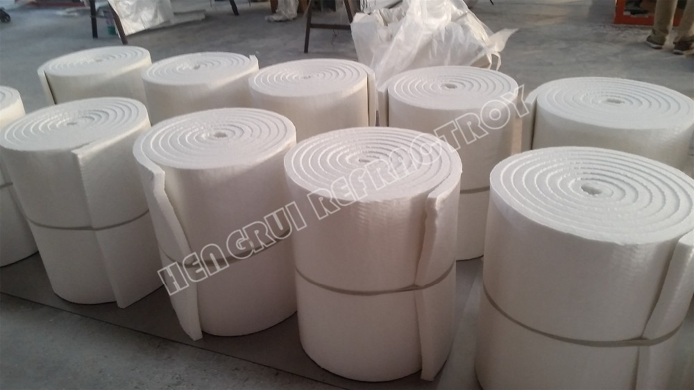 HZ (High Zirconium) Grade and Liners Of Industrial Furnace Application Ceramic Fiber Blanket Roll