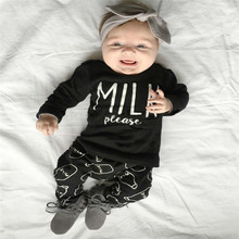 Spring new INS hot style cotton casual coat trousers 2pcs baby clothing suit for children