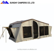 Economic family wheel off road 4wd adventure camping trailer tent