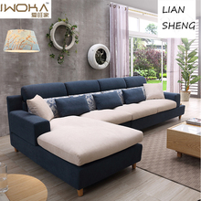 alibaba wuxi set living room <strong>modern</strong> style sofa set design l shaped