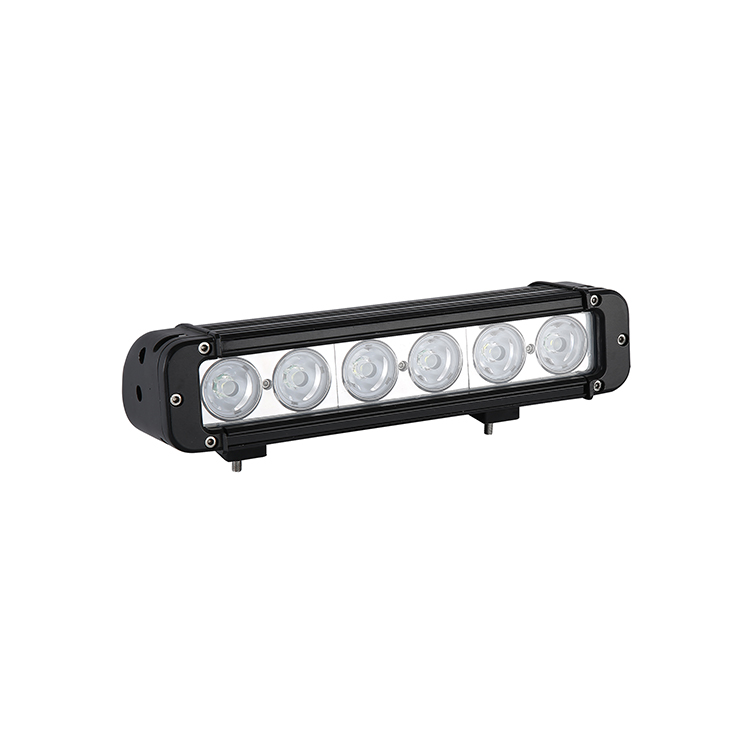 HANTU low MOQ Straight <strong>shock</strong> resistance led light bar single row spot/flood/combo beam led light bar for offroad