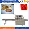 Shanghai Factory Automatic Horizontal flow Pack Bread Packing Machine