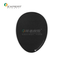 Excellent quality OEM anti-slip eco-friendly natural rubber + fabric elliptical game mouse pad with logo/pattern printed