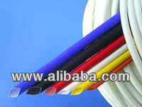 "CLASS ""H"" SILICON RUBBER COATED FIBREGLASS SLEEVINGS"