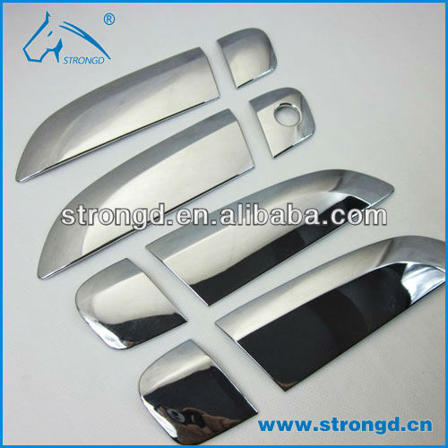 cnc car door hand panels abs chromed machining parts