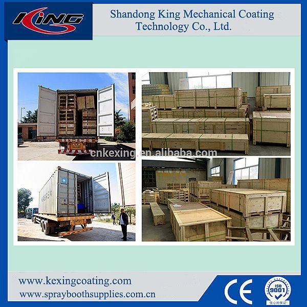 High Quality Competitive Price KX-3200E Car Paint Spray Booth for Sale