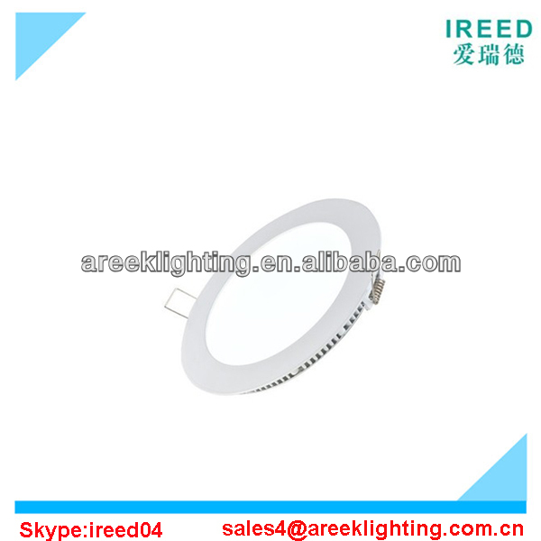 6w round Led panel light Factory Price with ce rohs led light panel
