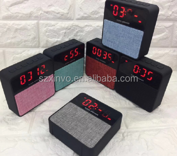 Living Bluetooth Speaker Alarm Clock