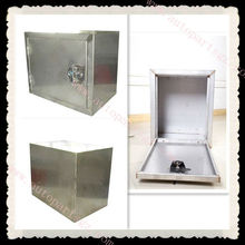 refrigerated truck accessories,stainless steel tool box, fiberglass panel
