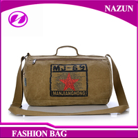 Wholesale high quality durable shoulder strap replacement canvas tote duffle bag