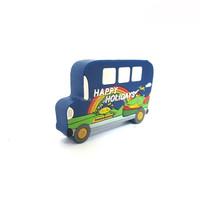 Cute bus shape thumb drive promotional gift