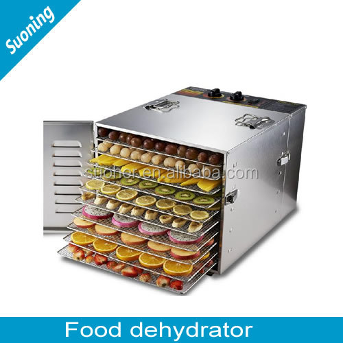 2016 new design Stainless steel dried fruit machines /food dehydrator /fruit drying machine