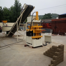 Reasonable price ZX 1-10 automatic mud brick making machine
