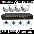 DONGJIA DJ-7908TQ-P-1080P Onvif P2P 8 Channel Network HD 8CH Dome and Bullet IP Camera Kit