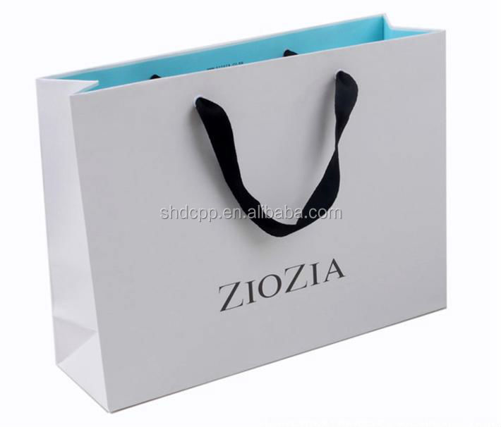 good quality handbag shape gift kraft paper bag wholesale