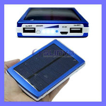 Portable Universal Dual USB 10000mAh Solar Battery Charger