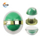 Fancy egg shape sphere jars lush cosmetics two flat inner containers double layer ball shape face cream jars