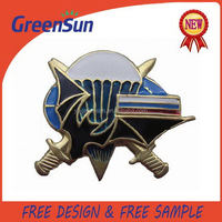 Cheap price custom grand design metal car logo badge