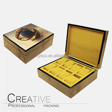 High Gloss Personalized luxury 8 Slots Wooden Watch Box