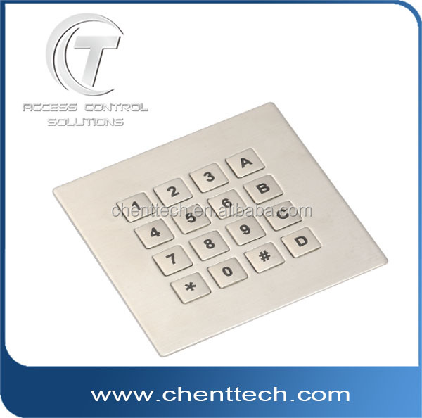 16 keys numberic metal keypad with best price