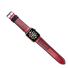 Durable Watch Band Nylon and Leather Band Watch Men , 38mm 42mm Luxury Watch Strap For Apple