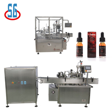 Best manufacturer SGLP+SGDYJ Automatic Small Bottle Filling Capping And Labeling Machine